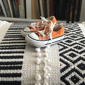 Converse Orange Classic Shoes